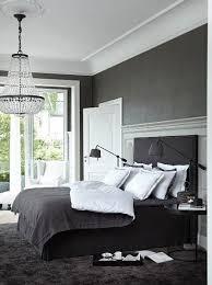 Dark Grey Bed Room By Slettvoll