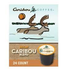 Caribou Coffee Blend Medium Roast Kcups 24ct