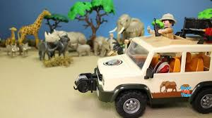 100 Safari Truck Playmobil With Lions Playset Build Review Learn Animal