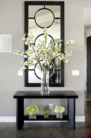 But WHITE Outstanding Arrangement Of Simple Stems In The Tall Glass Vase