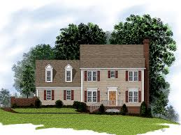 Pictures Small Colonial House by Glen Peak Colonial Home Plan 013d 0068 House Plans And More