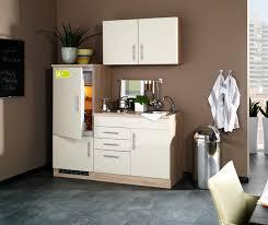 singleküche berlin mit kühlschrank breite 160 cm hochglanz creme eiche sonoma