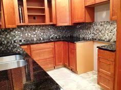 Tile With Black Galaxy Granite