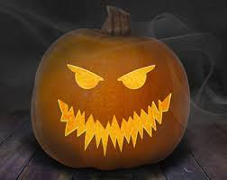 Scariest Pumpkin Carving by Pumpkin Carving Etsy
