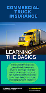 Commercial Truck Insurance: Learning The Basics • InsureMeta