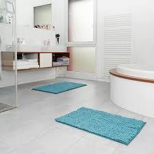 premium badematte bath mat rutschfest und waschbar grau 80