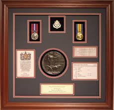 D WW1 Medal Frame