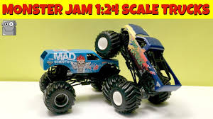 Rap Attack & Mad Scientist 1:24 Scale Monster Jam Trucks - Toy ... Hot Wheels Monster Jam Mohawk Warrior Chrome 2017 Unboxing Youtube Colctible Jammystery Trucks Flk27 Mohawk Warrior Truck Cake Trucking Stars Stripes 55 W Wiki Fandom Powered By Wikia Purple With Silver Hair And Other Jams Toys Games Vehicles Remote Hot Wheels Monster Jam Includes Team Flag New Bright 143 Scale Rc 360 Flip Set Llfunction Mini Car Black Avenger Trucks Pinterest