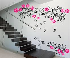 Ebay Wall Decoration Stickers by Large Floral Butterfly Love Wall Art Sticker Bedroom Lounge Decal