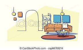 modernes wohnzimmer leer keine menschen wohnung möbel