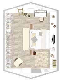 unterm dach schlafzimmer mit schrä einrichten wohnidee