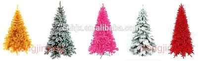 180cm Snow Optic Fiber Artificial Led Lights Christmas TreeRed Top