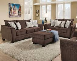 American Freight Living Room Tables by Freefall Chocolate Sofa And Loveseat Transitional Living Room