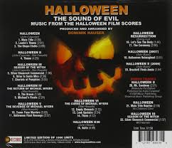 Halloween H20 Original Soundtrack by Dominik Hauser Katie Campbell Alan Howarth John Carpenter John
