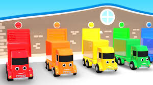 Kids Color Learning Trucks Colors Learning Videos With Toy Trucks ...