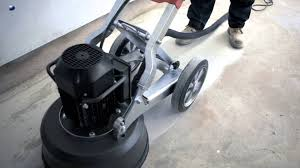 how to grind a hiperfloor with commercial finish by husqvarna