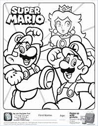 Coloriage Super Mario Nouveau Dessin A Colorier De Jeux Video
