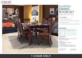 Buy Harper Dining Room Suit - 1 Chair Only | Model WF-HARPER ... Make Ding Room Chair Slipcovers Kokoazik Home Designs Amazing Black Faux Leather High Back Chairs Armed Ding Room Chair Covers Design Grey Velvet Cover Jf Covers Removable An Easy Diy That You Sure Fit Stretch Pique Short For Royals Courage Create Your Eating Brown Pool Dark Fniture Seat Elegant Look Of Parson With 57 Strong Protectors Clear Gorgeous Leg Vinyl Plastic Caps
