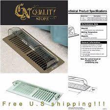 Ceiling Heat Vent Deflector by Register Deflector Heating Cooling U0026 Air Ebay