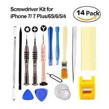 Amazon Esdabem Repair Tool Kit for iPhone 7 – plete