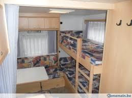caravane familiale avec lit superpose a vendre 2ememain be