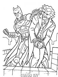 Lovely Ideas Coloring Pages Batman And Joker 9322