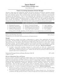 Financial Account Manager Sample Resume Cargo Agent Cover Finance And Insurance