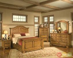 Eagles Nest Rustic Style Bedroom Furniture Set American Woodcrafters 36000