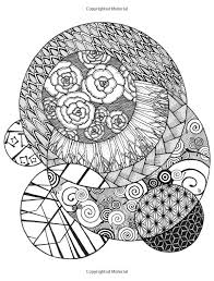 Zen Doodle Coloring Book Relax And Relieve Stress With Adult Pages Kristy Conlin