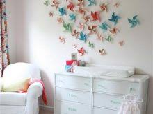 Simple Ways To Decorate Your Home Paper Wall Colorfuls Handmade Stars Small Room Decorating Ideas Interior