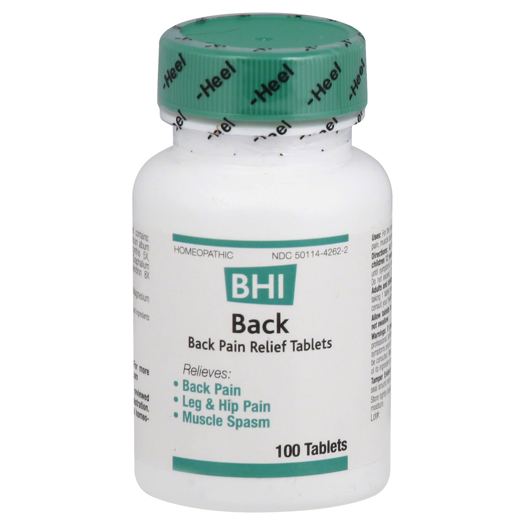 BHI Back Pain Relief Tablets