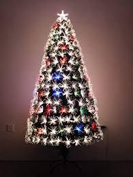 LED FIBER OPTIC CHRISTMAS TREE 7ft