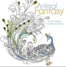 Animal Fantasy Anti Stress Colouring Book