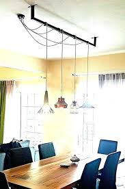 Off Center Dining Room Light Lamp Chandeliers Chandelier Table Candle Black Lighting Dinning Solution Li