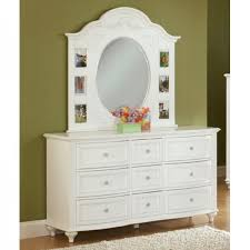 Dresser Mirror Mounting Hardware by Princess Bedroom Bed Dresser U0026 Mirror Full 22862 Bedroom