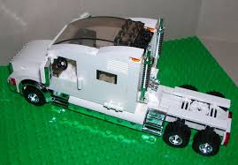 White Custom LEGO Extended Sleeper Cab Semi Truck With Chrome Trim Used Trucks Ari Legacy Sleepers Semi Custom Bathroom Vanity Cabinets The Most Truck Sleeper Cabs Peterbilt 379 Salvage For Sale Manufactures Highend Custom Sleepers Semi Sleeper Wikipedia Rigstrucking Big Come Back To The Wwwatsblogerwordpresscom Drop Visors6 Different Styles And Other Visors 12 Gauge Expediters Fyda Freightliner Columbus Ohio
