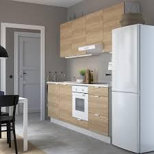 enhet küche eichenachbildung 243x63 5x222 cm