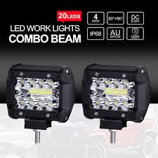 4Inch LED Work Light Bars Offroad Spotlight Work Driving Lamp Truck ... 12v 18w 6led Waterproof Led Headlights Flood Work Light Motorcycle 4pcs 4inch Work Light Bar Driving Flood Beam Suv Atv Jeep New 4inch 57w Lights Offroad Led Bar Trucks Boat 4x4 4wd Atv Uaz Suv Driving 2pcs 18w Flood Beam Led Work Light 12v 24v Offroad Fog Lamp Trucks Truck Lite Spot With Ingrated Mount 81711 Trucklite 50 Inch 250w Spotflood Combo 21400 Lumens Cree Signalstat Stud Mount Oval Lot Two Mini 27w 9 Worklights Fog For Tractor Xrll 27w Forklift Square Cube Pods Flush
