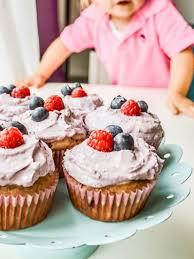beeren cupcakes ohne zucker