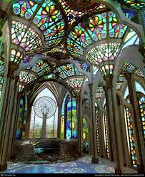 gothic conservatory by adale rene 3d cgsociety tradition