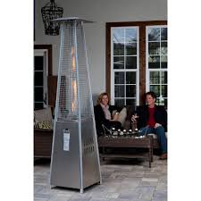 Hiland Patio Heater Manual by Stainless Steel Pyramid Flame Heater Walmart Com