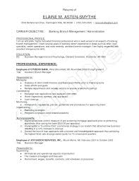 Bank Manager Resume Samples Here Are Assistant Format The Most Brilliant