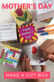 A Great Classroom Mothers Day Art And Craft Activity For Kids To Make Take Home