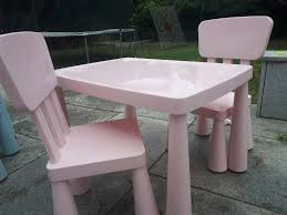 Child Table + 2 Chairs Indoor Outdoor - PINK - LAST CALL ! | In Wembley,  London | Gumtree