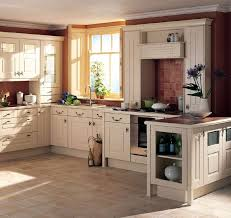 Rustic Kitchen Decor Ideas Extendable Dining Table French Country Kitchens Cream Color Granite Countertop Built In Stoves Ovens Double Door Glass