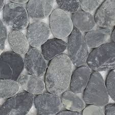 mosaik fliesen dusche bad naturstein kiesel boden 11 matten