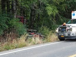 100 Logging Truck Accident Log Crash Deceased Driver KXL