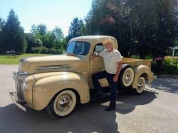 Eye Candy: 1946 Ford Pickup – WHEELS.ca 1946 Dodge 12ton Pickup For Sale Classiccarscom Cc1104865 Other Chrysler Chevy Ford Gmc Packard Plymouth Wf 1 12 Ton Dump Truck 236 Flat Head 6 Cylinder Very Power Wagon Sale Near O Fallon Illinois 62269 Cc1126578 Information And Photos Momentcar Restored With Dcm Classics Help Blog Cc995187 2018 Ram 1500 Moritz Jeep Fort Worth Tx 1949 With A Cummins 6bt Diesel Engine Swap Depot Hot Rod