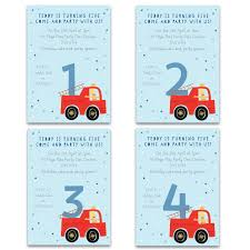 Game Truck Birthday Invitations Fire Free Envelopes Printable ...