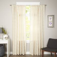 Joss And Main Curtains by Found It At Joss U0026 Main Tessa Trellis Print Rod Pocket Curtain